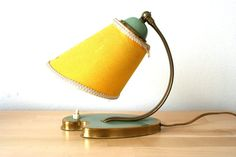 Lovely little pair of 1950s table desk night lamps from Germany on Etsy, £47.23