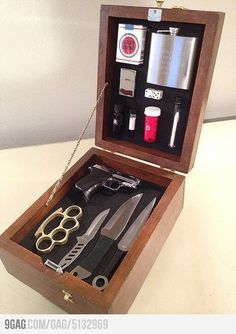 Because there is a dark side in every gentleman - The Badass Kit