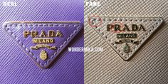 How to spot a fake Prada. See it in pictures! – WONDERMIKA