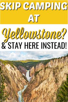 CAMPING NEAR WEST YELLOWSTONE: TAre you tying to find a camping spot near and around West Yellowstone? Lucky for you, we have the perfect spot for you, this RV campground is ONLY 20 minutes outside the West Yellowstone entrance, is super affordable and the views are stunning, AND it's family friendly. We absolutely love this rv campground in Idaho. #yellowstone #rvcamping #idaho Camping Spots, Rv Camping, Campsite, Camping Hacks, West Yellowstone, Yellowstone National Park, National Parks, Rv Campgrounds, Best Kept Secret