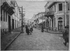 Sirok Sokak – The main street in Bitola. January 1917