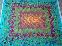 Blooming Nine-Patch sandwiched by KittyKittyCrafts (Karissajo), via Flickr  One of the most sensational quilts I've seen on the net!