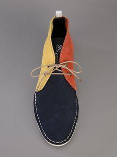 Swear - Davis boot colour contrast desert boot