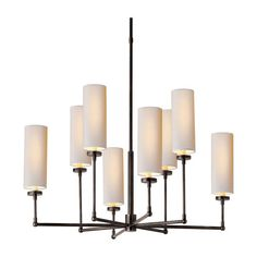 Thomas OBrien Ziyi 8 Light Chandelier Bronze .   variety of available finishes for your particular style $708