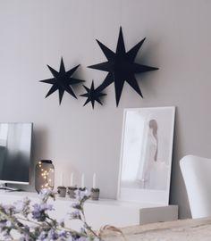 DIY Weihnachtsdeko Sterne