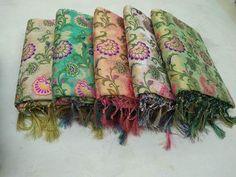 Ethnic indian pure banarasi silk hand weave saree blouse wedding wear south sari #Handmade #Saree