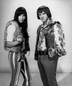 sonny and cher | Original size at 374 × 450