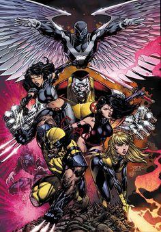X-Men - David Finch #comics