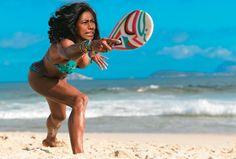 frescobol 2 Foto E Video, Bikinis, Swimwear, Plays, Beach, Outdoor Decor, Sports, News, Photos