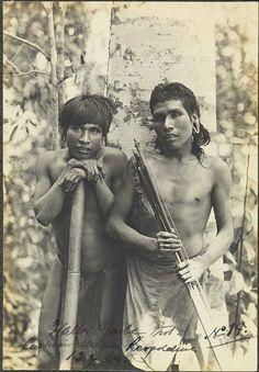 Walter Garbe, Índios Botocudos - Cachoeiro de Sta. Leopoldina, 13-7-1909