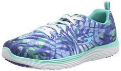 Amazon.com   Skechers Valeris Women Round Toe Synthetic Blue Walking Shoe   Fashion Sneakers