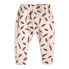 Patterned Trousers, Pink, Bottoms, Kids | Lindex