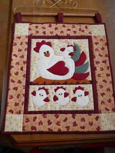 Easter Chick Wallhanging Easter Egg by ComfyCosyCrafts on Etsy, $35.00