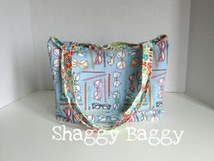 Summer Cotton Bag by ShaggyBaggy on Etsy, $28.00