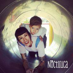 Foto by Noctiluca Trapitos #porteo #babycarrier #noctilucatrapitos #babycute #rikinodelamuerte