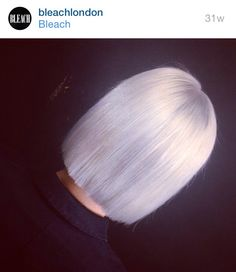 Silver bob//Bleach London