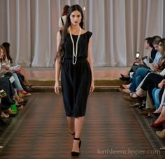 Classic Pearls | Designer Libellule at New Orleans Fashion Week Photographed by Kathleen Clipper