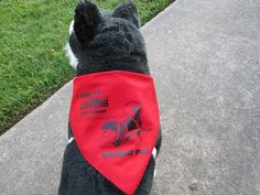 Special Event bandana for Weight Pull at Reliant World Series of Dog Shows 2012