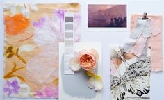 The paint edit: Sunset Garden Fabric Wallpaper, Paint Wallpaper, Film Inspiration, Designers Guild, Nail Artist, Spring Collection, Mood Boards, Paint Colors, Printing On Fabric