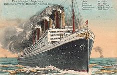 S. S. Imperator, later the Leviathan