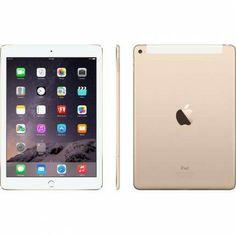 "Apple iPad Air 2, 4G Tablet PC, 9.7"", 128 GB (NAND Flash), Triple Core, Gold - SR2499"