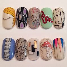 KAYO by NailSalon AVARICEによる2014人気アート総集編 2014/12/01 月曜日 14:30~17:30 ネイルパートナー恵比寿店 #avarice #art #nails #nailart #design #nailsalonavarice #kayo (NailSalon AVARICE)