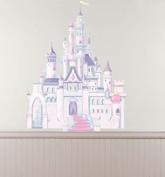 Disney Princess Castle Wall Decal - Party City