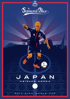 Collection of posters presenting 2014 FIFA World Cup participants Team Wallpaper, Football Wallpaper, World Cup 2014, Fifa World Cup, Superstar Football, Japan Soccer, Soccer Drawing, Pop Art Design, Web Design