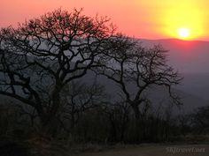 Sunset in Hluhluwe-iMfoloziNational Park