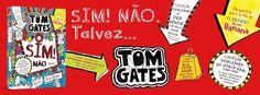 Sinfonia dos Livros: Novidade BookSmile | Sim! Não... Talvez | Tom Gate...