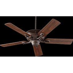 """Quorum 56525-86 Ceiling Fans 52"""" Lowell 5 Blade Ceiling Fan"""