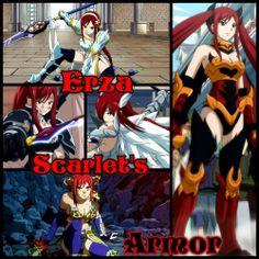Erza Scarlet Armor collage by Kiko-E-Coyona on DeviantArt Erza Scarlet Armor, Fairy Tail Erza Scarlet, Fairy Tail Characters, Scarlett, Manga Anime, Anime Art, Mystery, Collage, Deviantart