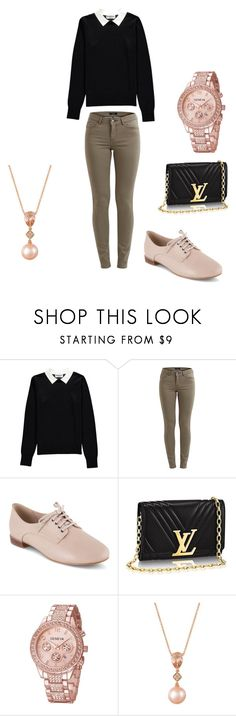 """""""Rich Preppy"""" by xxgirlstylesxx ❤ liked on Polyvore featuring Essentiel, Clarks and LE VIAN"""