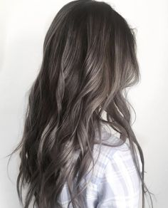 hair beauty - 45 Stunning Ash Brown Hair Color Ideas For Summer Page 9 of 45 Chic Hostess Brown Hair Balayage, Brown Blonde Hair, Brunette Hair, Hair Highlights, Ombre Hair, Blonde Ombre, Ash Grey Hair, Ash Brown Hair Color, Ash Hair