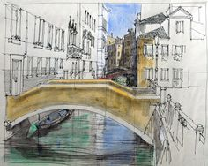 Kanal hinter Santa Maria Formosa, Venedig