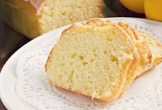 The House Spouse: Light Coconut Lemon Pound Cake (Recipes)