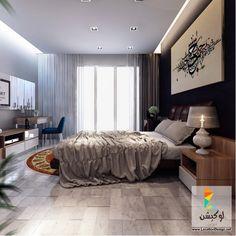افضل 10 صور للأرقى وأجمل تصاميم غرف نوم مودرن - لوكشين ديزين . نت