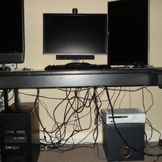 how to hide cables kabel. Black Bedroom Furniture Sets. Home Design Ideas