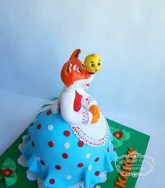 """Торт """"Лиса и колобок"""" Baby Cakes, Игрушки, Животные"""
