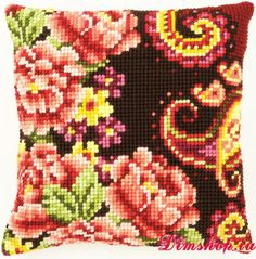 Embroidery set Vervaco PN-0148044 flowers with curls