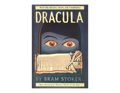 Don't put all your Halloween decorations away yet — we have one more gothic hero to celebrate. Today would have been the birthday of Bram Stoker, creator of the world's most famous vampire (sorry, Angel) Count Dracula. Dracula Book, Vampire Dracula, Bram Stoker's Dracula, Book Cover Design, Book Design, Vintage Books, Vintage Posters, Famous Vampires, Forever Book