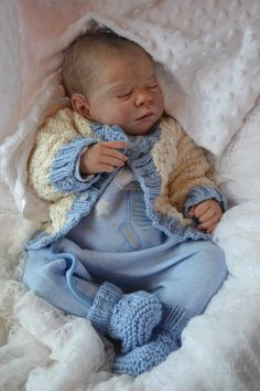 "Katescradles Reborn Baby Boy Doll "" Gena by Michelle Fagan Beautiful 