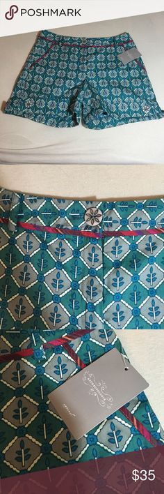 NWT Gorgeous anthropologie shorts New with tags anthropologie shorts the brand is coreylynncalter 100% cotton and a size 4. They have front and back pockets. I ❤️ offers! Anthropologie Shorts