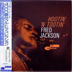 FRED JACKSON / HOOTIN'  N' TOOTIN' / BLUE NOTE / JAZZ / TOSHIBA JAPAN OBI