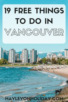 Read our insider guide for the best free things to do in Vancouver, Canada. From hikes to festivals to the best views, these are best free and cheap things on offer in Vancouver. things to do in Vancouver | visit Vancouver | Vancouver travel tips | budget travel Vancouver | solo travel Vancouver | #Vancouver #Canada #travel