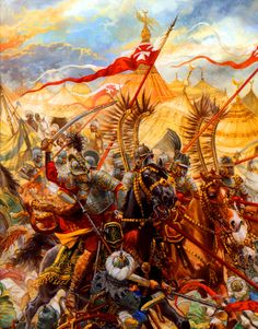 Charge of the Polish Winged Hussars at the Battle of Vienna