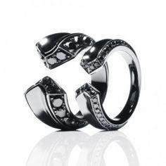 Cute dark silver earrings. def wear.