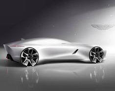 Aston Martin sketch by @andrey_gusev_design #cardesign #car #design #carsketch #sketch #drawing #astonmartin
