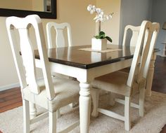 My Rags To Riches: Stained Table