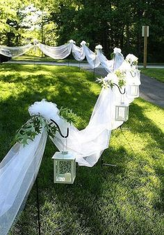 To decor a fantastic outdoor wedding ceremony, I've put together 35 my favorit. To decor a fantastic outdoor wedding ceremony, I've put together 35 my favorite outdoor wedding ideas and hope these wil. Summer Wedding, Diy Wedding, Rustic Wedding, Wedding Ceremony, Dream Wedding, Wedding Day, Wedding Backyard, Wedding Beach, Trendy Wedding